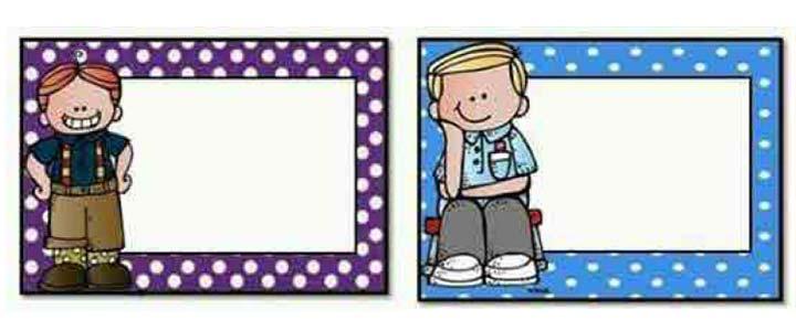 etiquetas para cuadernos escolares