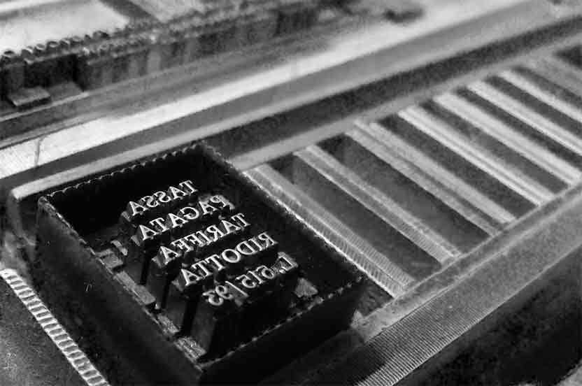 Sistemas de impresión tipográfica