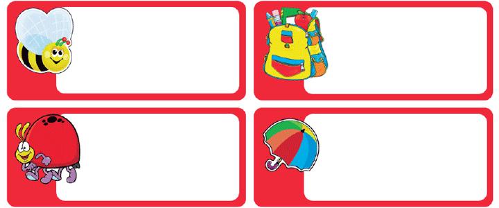 etiquetas para cuadernos editables