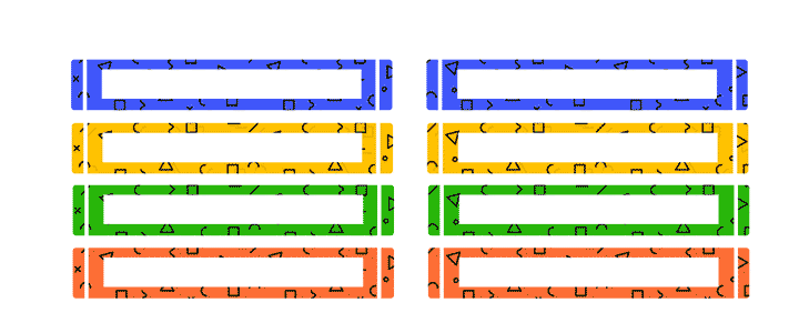 etiquetas para colores