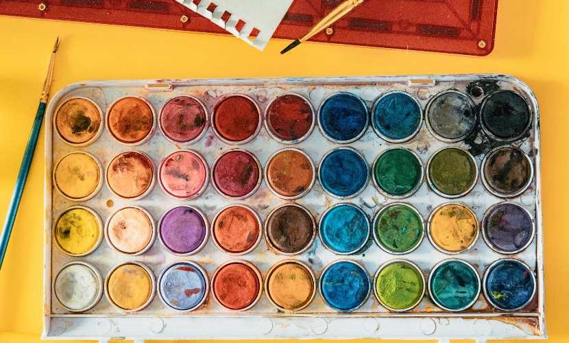Los colores cálidos y fríos, amplia teoría del color