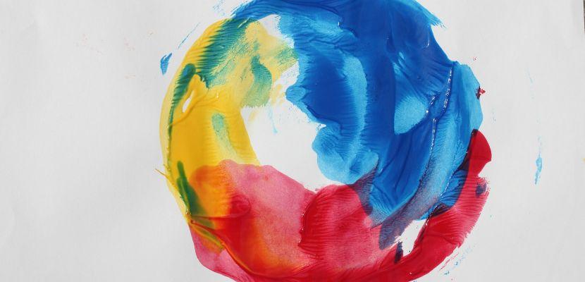 escala de colores primarios