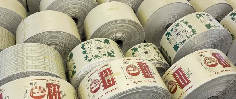 rollos de impresora