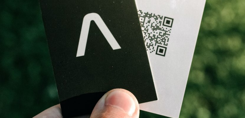 tarjeta de presentación personalizada