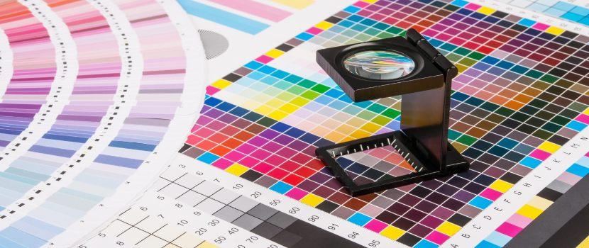 colores de impresión digital