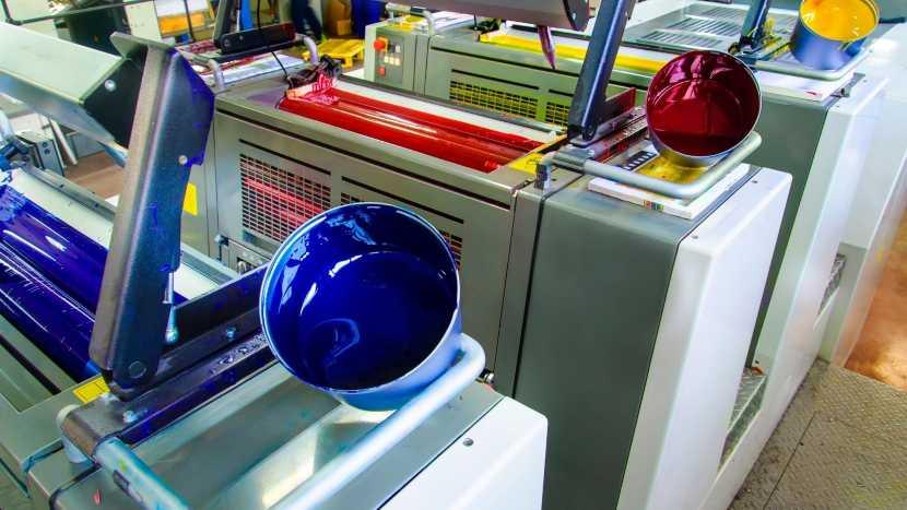 Completa información sobre tintas para impresión offset